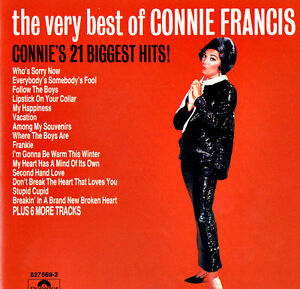 CONNIE-FRANCIS-THE-VERY-BEST-OF-21-BIGGEST-HITS-Original-CD-like-NEW