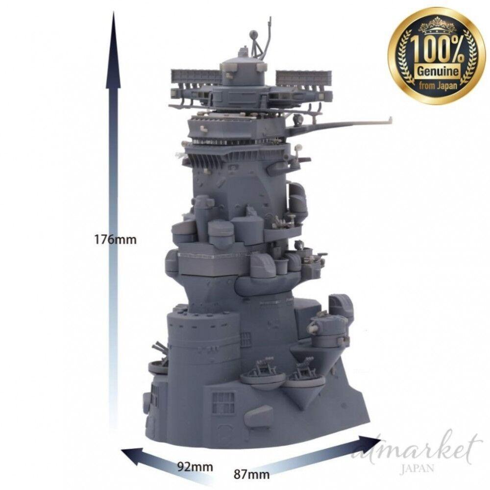 Fujimi Barco de Guerra Yamato Modelos Plástico 1 200 Puente Equipamiento 2 Japón