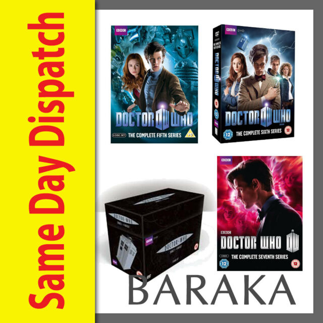 Doctor Who Complete Seasons Series 1, 2, 3, 4, 5, 6 & 7 (Part 1 & 2) DVD Box Set