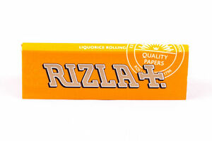 Rizla-Liquorice-Rolling-Papers-Standard-size-BROWN-PAPER-1-2-5-10-20-50-100-pcs