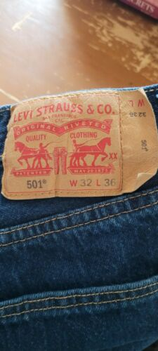 Levis 501 - PreOwned