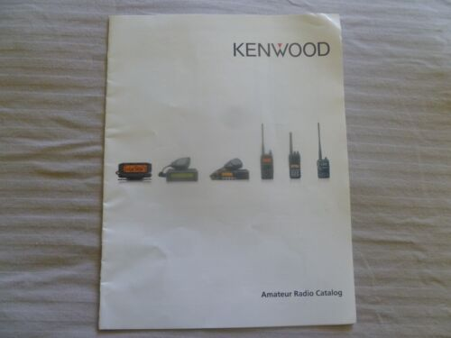 Kenwood Transceiver company Brochure color with  features Specs 10 Pages