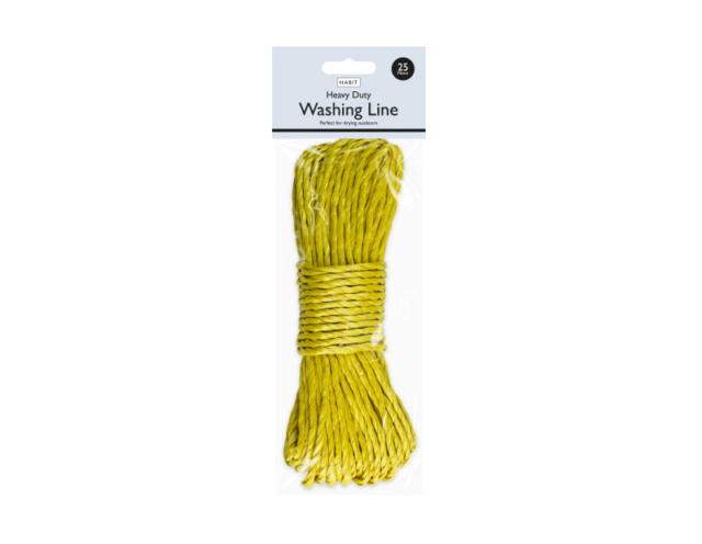 Washing Line Rope Laundry Clothes Drying Heavy Duty PVC Great Colour Selection