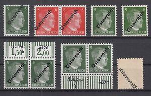 S4182-AUSTRIA-SOVIET-ZONE-MI-660-662-MINT-MNH-INCL-VARIETIES