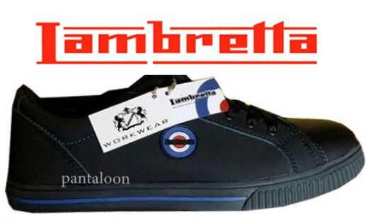 Wf 29  Safety Steel Skater Toe Cap Plimsoll Trainers Skater Steel style Schuhes by  Lambretta 28a0a2
