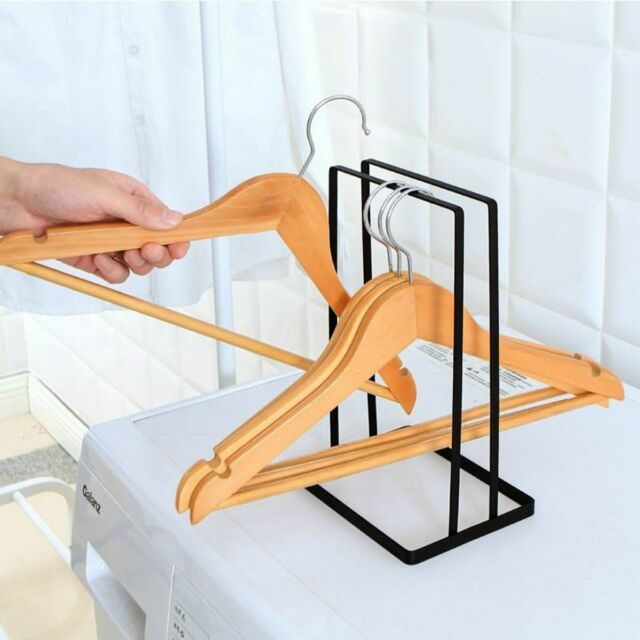Storage Rack Hanger Holder Stacker Laundry Clothes Coat Stand Garment G