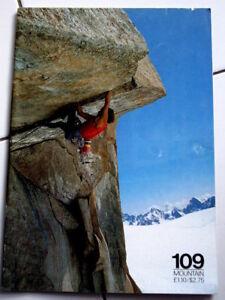 109 Mountain Magazine Escalade Alpes Alpinisme-afficher Le Titre D'origine