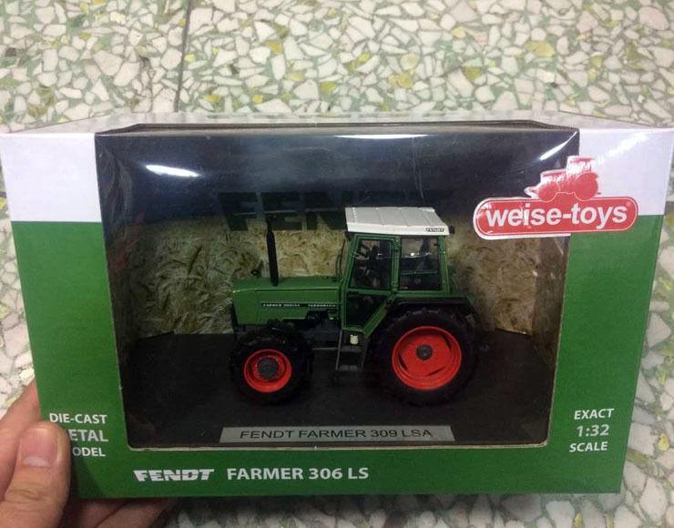 Nuevo weise-toys Escala 1 32 De Metal Fundido Modelo Fendt agricultor 309 Lsa