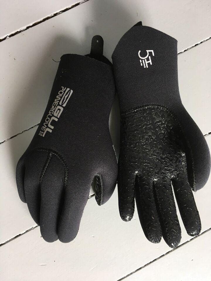 Neopren handsker, GUL