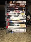 Various Sony Playstation 3 PS3 Games Lot