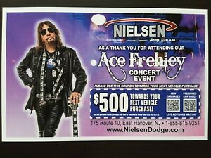 KISS-ACE-FREHLEY-2019-NEW-JERSEY-CONCERT-AD-POSTCARD-HANDBILL-FLYER-RARE-PROMO