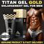 New-GOLD-TITAN-GEL-Powerful-Penis-Enlarger-Lubricant-for-Men-Enhancement-Maxsize Indexbild 1