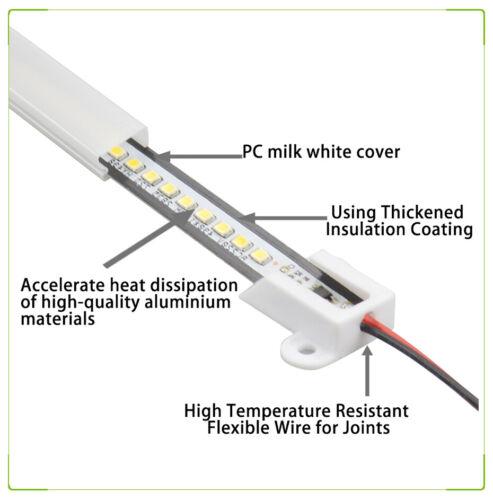30//40cm LED Rígido Proyector Tira Tubos Fluorescentes Barra 220V DIY Escaparate