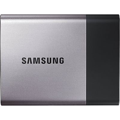 """Samsung T3 2TB 2.5"""" USB 3.1 Type-C Portable External Solid State Drive SSD"""