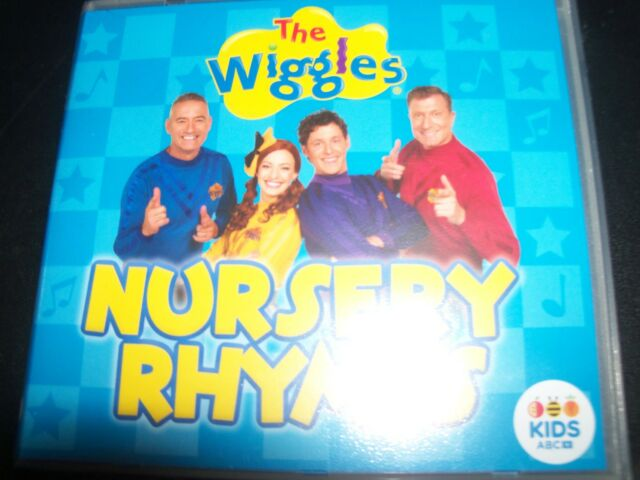 THE WIGGLES Wiggles Nursery Rhymes ABC Kids CD – New