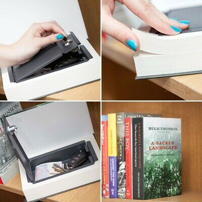 The Real Book Safe Dictionary Secret Stash Cash Lock Box Hidden Security Storage