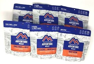 Mountain House Freeze Dried Emergency Food, - Variety Pack, 6 Pouches