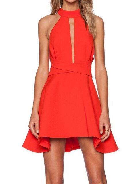 Cameo Breaking Hearts Dress - Scarlet Red