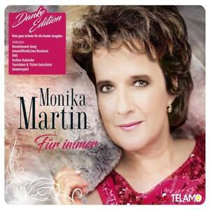 MONIKA-MARTIN-FUR-IMMER-DANKE-EDITION-CD-DVD-NEW