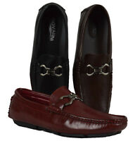 Men's Giovanni Dress Shoes Slip-on Loafers Moccasin Wedding Formal Casual