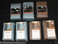 Threshold Home For Target Bedskirt Brown Or Blue Full Queen Or King