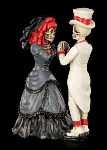 Liebe Heirat Geschenk Braut Bräutigam Gothi Skelett Brautpaar Devoted to you