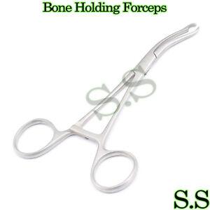 Bone-Holding-Forceps-16cm-Orthopedic-Surgical-Instruments-New-Brand