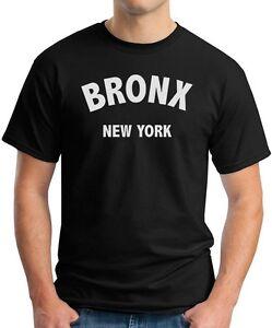 Black T-Shirt BRONX New York City NYC manhattan queens brooklyn 347 ... b83099182bf
