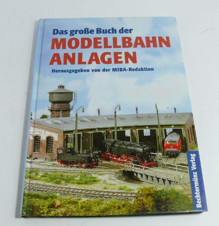 Libro el Gran Libro de la Maqueta de Tren Construcción de la Miba-Redaktion