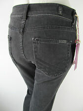 Seven for all Mankind SFAM 7FAM High Waist Jeans Glitter Schwarz 26