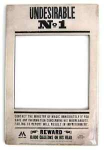 Harry Potter Undesirable No 1 Magnet Photo Frame Ebay