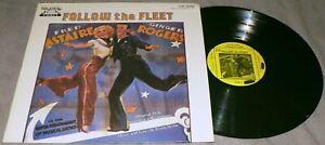 FRED ASTAIRE GINGER ROGERS Follow The Fleet OST 1985 Sandy Hook SH2099 Vinyl LP