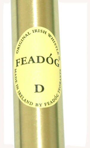 "Feadog Irish Tin Whistle Penny Whistle Irish Products Brass Key /""D/""  8073BR"