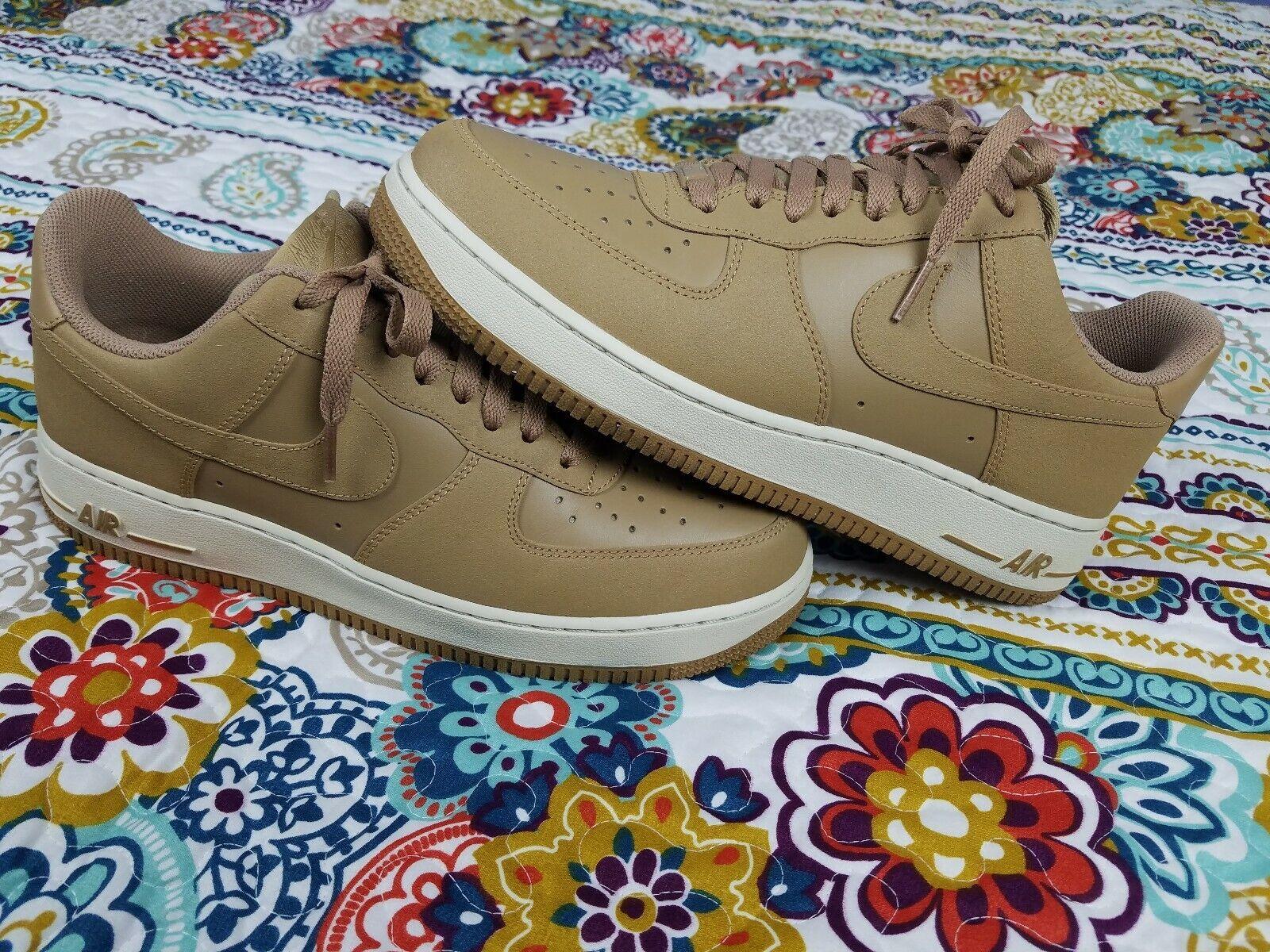 Nike Air Force 1 One Low 07 Beechtree Beechtree Beechtree Tan Mens Sz 10 Basketball shoes 2011 bone 1eb0d4