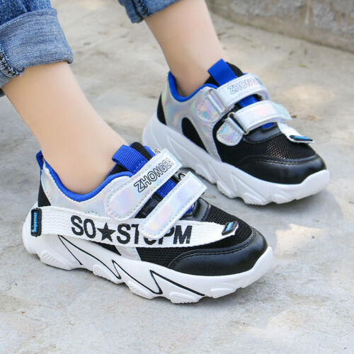 New children/'s sports shoes fashion mesh shoes girls boys casual running shoes