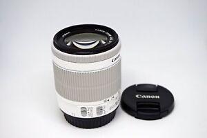 Canon-EF-S-18-55mm-F-3-5-5-6-IS-STM-For-Canon-650D-700D-100D-White-NEW-Bulk