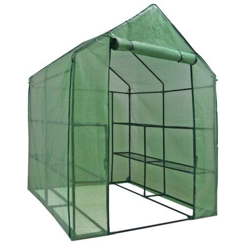 Portable Greenhouse Walk In Green House Outdoor Plant Gardening Year Around Garden Structures & Shade