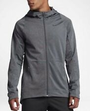 a261649e07f5 Nike HyperElite Hoodie Mens 776091-071 Charcoal Dri-Fit Basketball Size  Large