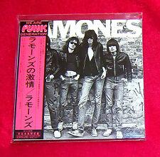 Ramones Ramones JAPAN MADE MINI LP CD NEW 22 TRACKS OUT OF PRINT WPCR-12722