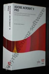 Adobe-Acrobat-9-Pro-Windows-deutsch-Vollversion-mit-Orginal-DVD-incl-MwSt