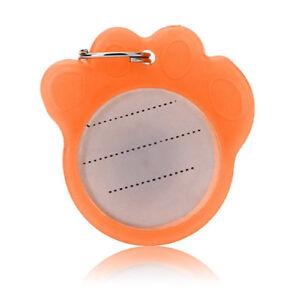 2Pcs-Dog-Cat-Pet-Safety-Anti-Lost-Luminous-Name-ID-Address-Collar-Tags-Label-Hot