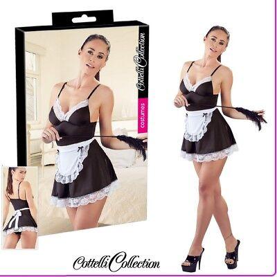 Sexy Lingerie Mini Abito Cameriera Sexy Maid Cottelli Costume Servier Fetish Toy