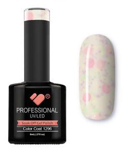 1296-VB-Line-Yogurt-Snow-White-Neon-Glitter-UV-LED-soak-off-gel-nail-polish