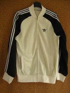 Détails sur Veste Adidas Superstar ATP Ventex Vintage Crème Made in France Jacket 80'S M