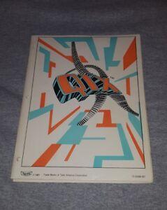 TAITO-QIX-1981-ORIGINAL-VIDEO-ARCADE-GAME-SERVICE-REPAIR-MANUAL