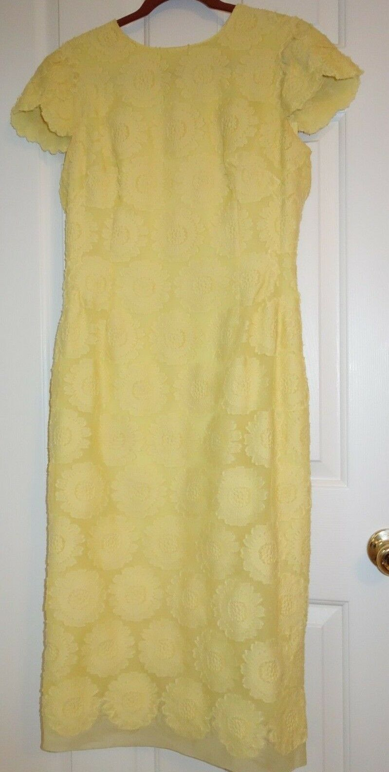ERMANNO SCERVINO  WOMEN'S DRESS sz. US 10 IT 46 MADE IN ITALY