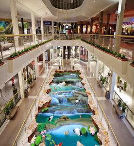 3D Waterfall Creek 423 Floor WallPaper Murals Wallpaper Mural Print AJ AU Lemon
