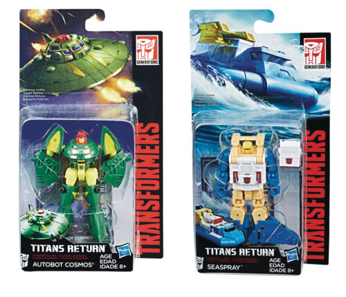 Hasbro Transformers Titans Return W3//17 Legend Class Seaspray /& Cosmos Set NEW