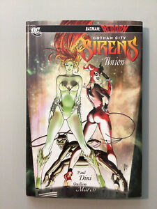 Gotham City Sirens Vol 1 Union HC (2010 DC Comics) Harley Quinn Catwoman by Dini