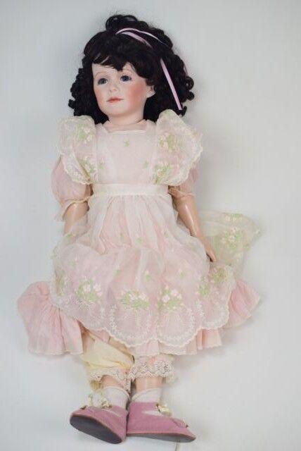 Elaine Pignataro Bisque Doll 26  - 1991